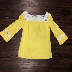 Lilly yellow tunic